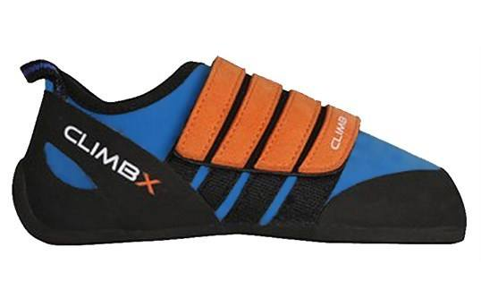 Climb X Kinder Kids Climbing Shoe with Free Sickle M-16 Climbing Brush